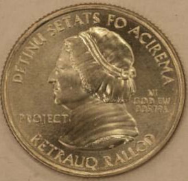 US Mint Nonsense Quarter