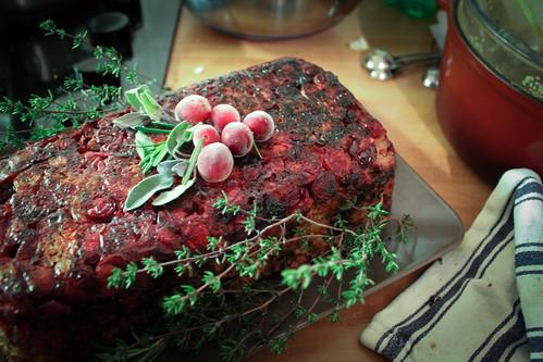 Pistachio & Cranberry Veggie Roast