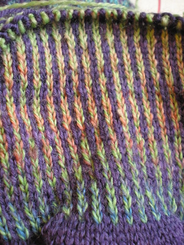 Striped Fairisle Knitting