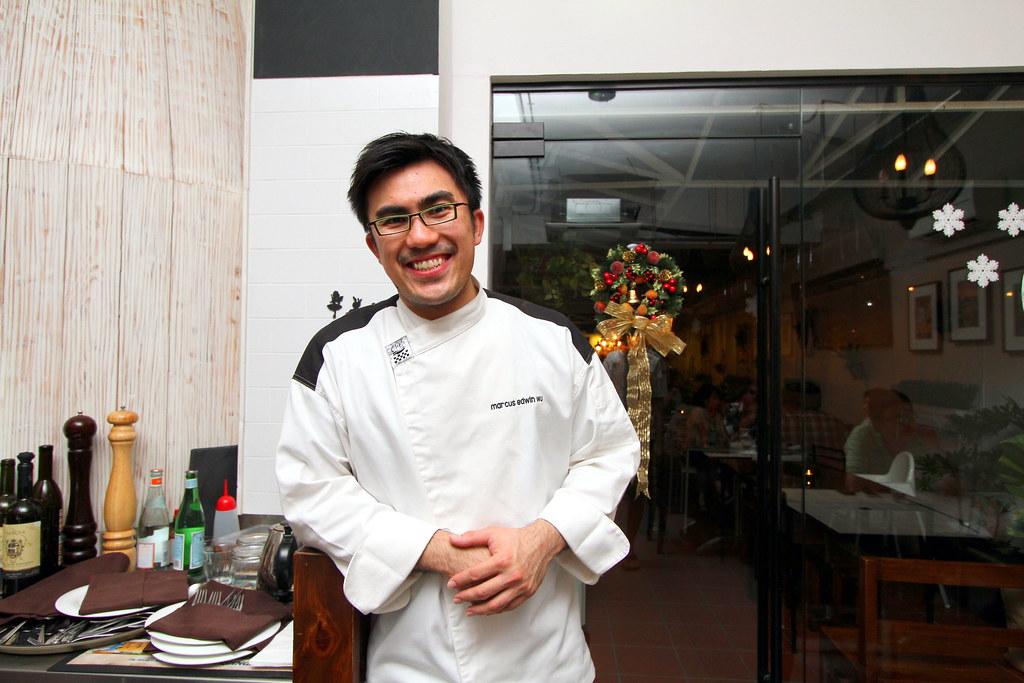 鲁巴托厨师/老板马库斯·埃德温·吴