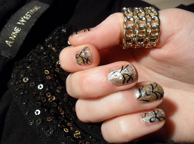 new year´s nail