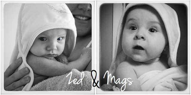 Zed & Mags Instagram B&W