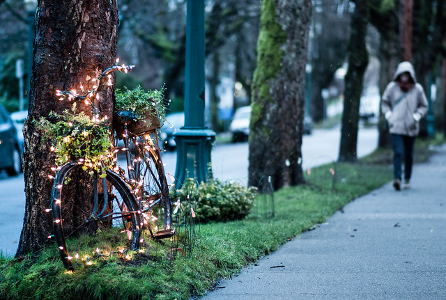 Christmas Bike Lights