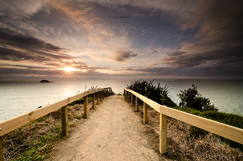 sunset newzealand sky water clouds stairs auckland nationalgeographic twop ndfilter hitechfilters hitechreversend