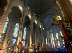 Christmas in the  St. Anthony of Padua Church in Istanbul