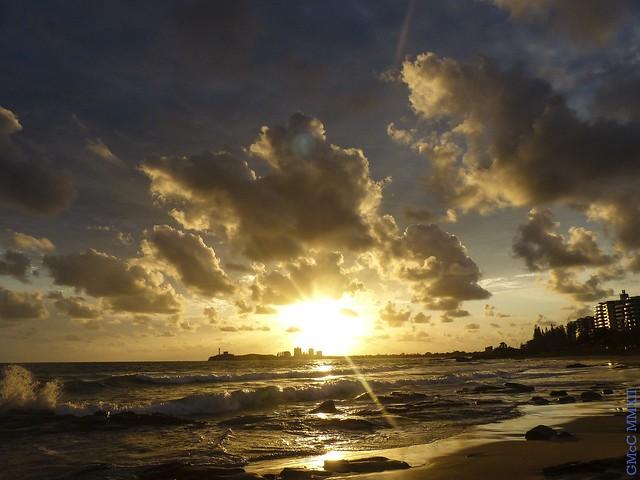 Sunrise over Mooloolaba