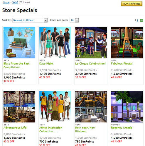 sales page december update