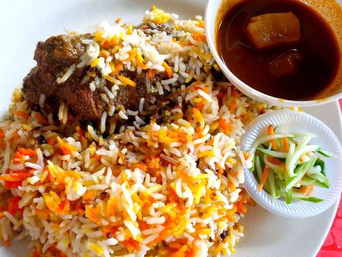 Tempat Makan Best di Shah Alam: pak anjang bariani johore