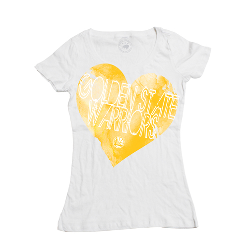 Golden State Warriors Fine Heart Sportiqe