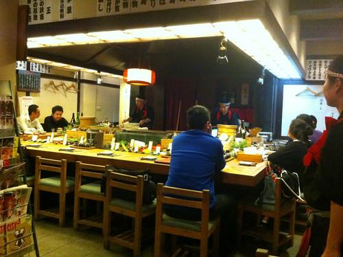 Robatayaki - Scott's favorite food