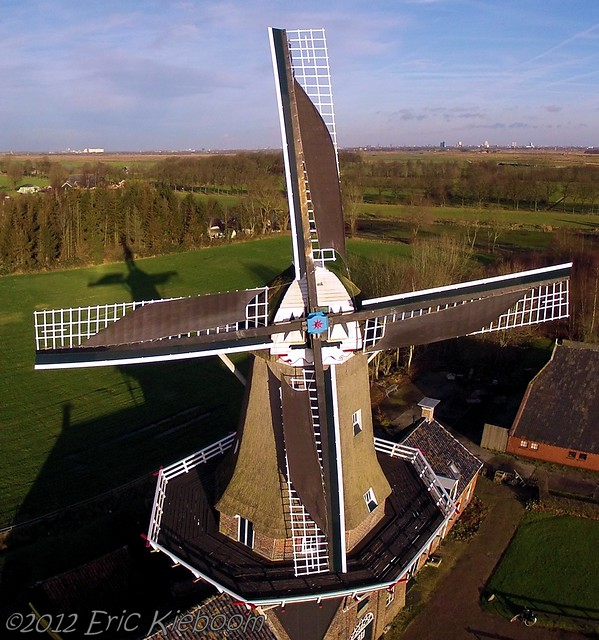 Linseed oil mill in Roderwolde, the Netherlands