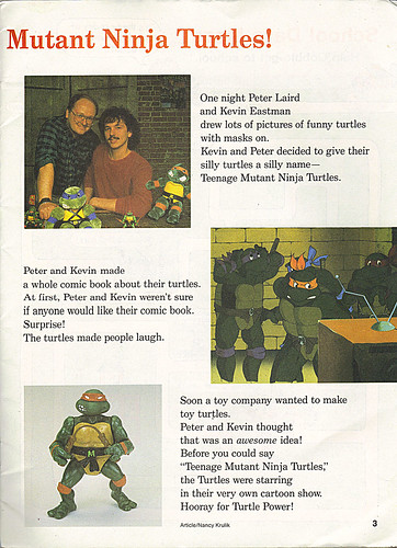 Scholastic PEANUT BUTTER #46 ; featuring TEENAGE MUTANT NINJA TURTLES iv (( 1990 ))