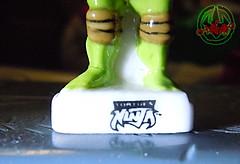 PRIME :: TORTUES NINJA  porcelain miniature prototypes ix / LEONARDO - A  (( 2009 ))