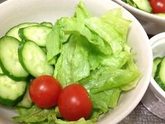 朝食サラダ 2012/12/26