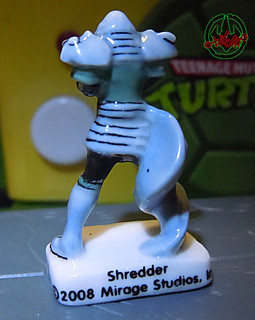 PRIME :: TORTUES NINJA  porcelain miniature prototypes xxviii / SHREDDER (( 2009 ))