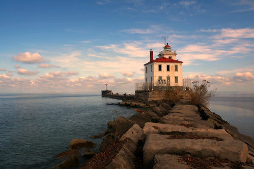 ohio lighthouse headlandsstatebeachpark fairportharborwestbreakwater frankszekelyphotography
