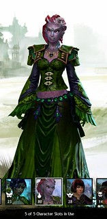 Rina the Sylvari Elementalist