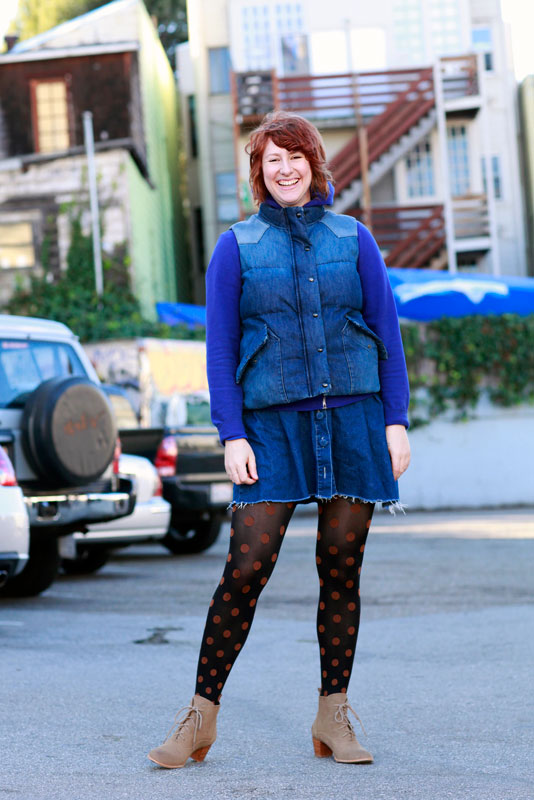 amy_rps street style, street fashion, South Van Ness Avenue, San Francisco, Quick Shots