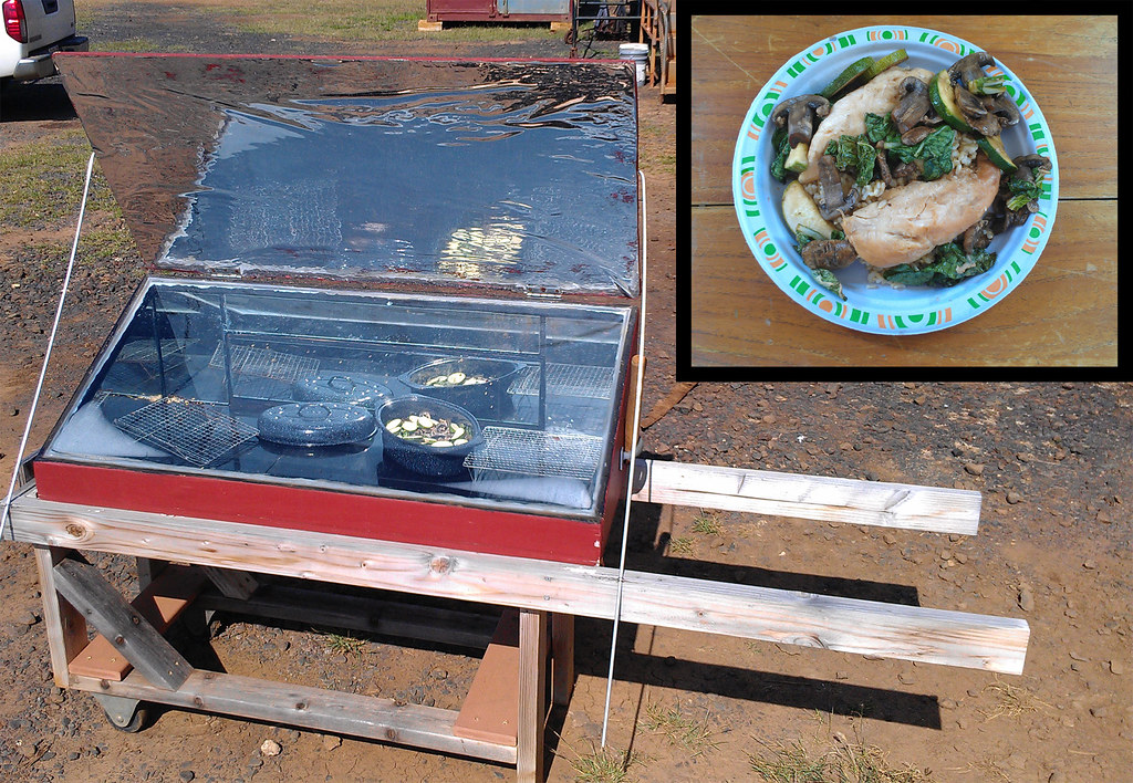 New Years Eve Solar Chicken and Veggies