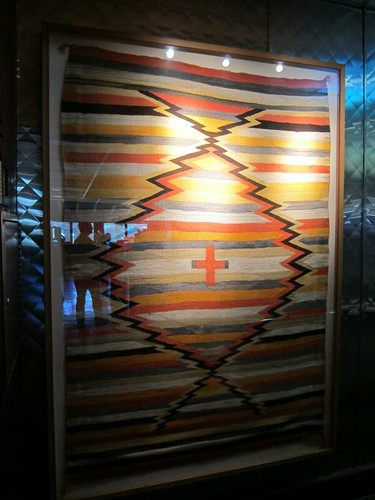 Navajo rug, Rutherford Grill IMG_2255