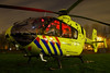 Lifeliner 2 at night in Zoetermeer