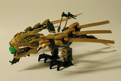 Lego Ninjago The Golden Dragon 70503 Review The Brick Fan * battle with the earth dragons armored wings, smashing tail and limbs! lego ninjago the golden dragon 70503