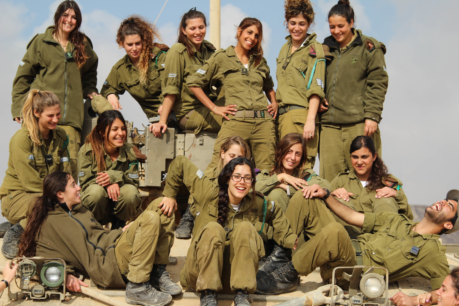 Israeli Female Tank Instructors