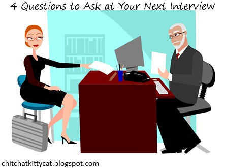 4 Questions to Ask at Your Next Interview