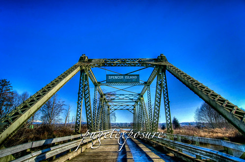 Spencer Island Foot Bridge