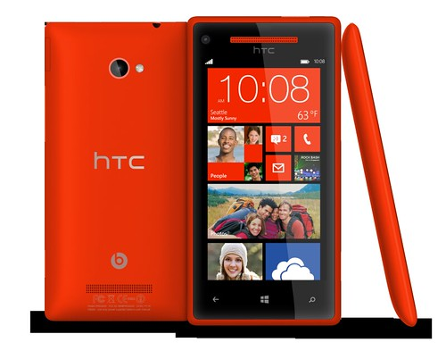 Windows Phone 8X by HTC Flame Red
