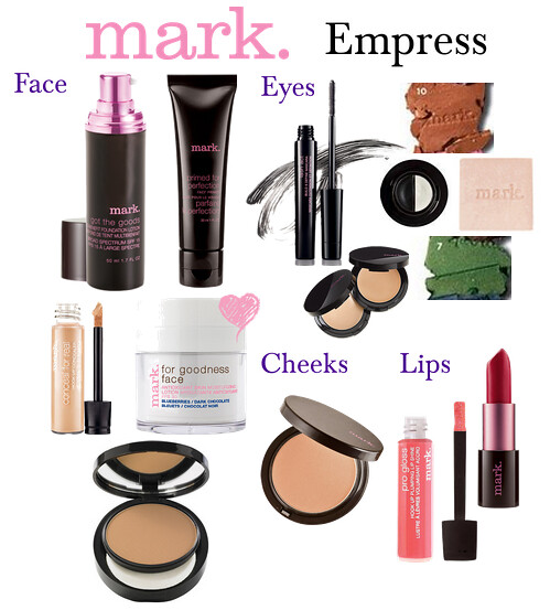 Living After Midnite: mark. Makeup Monday: Empress