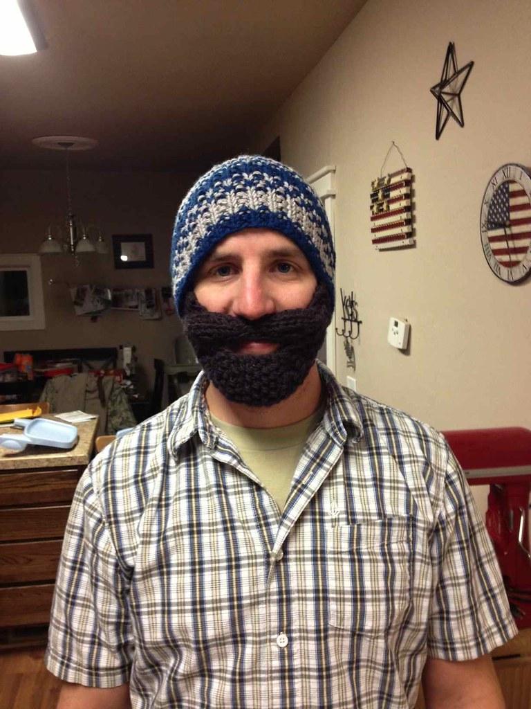 Ty's beard beanie