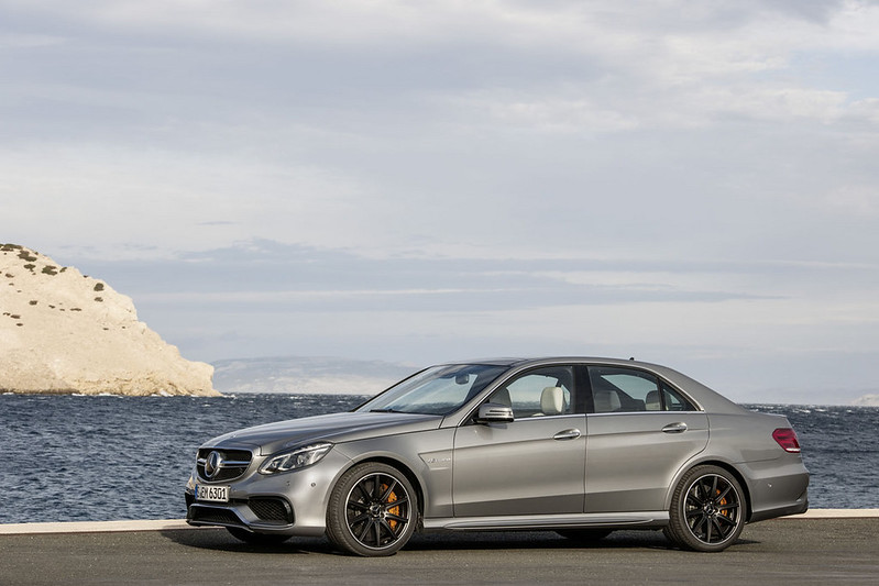 2014 Mercedes Benz E63 AMG side