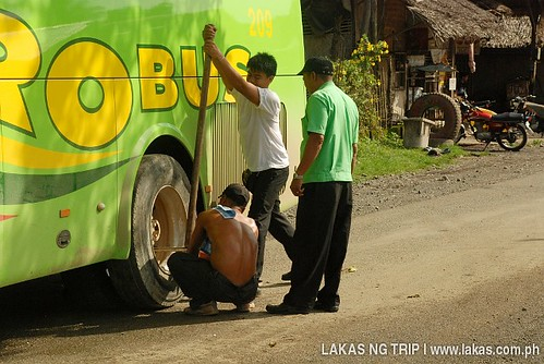 RORO Bus Technical Glitch