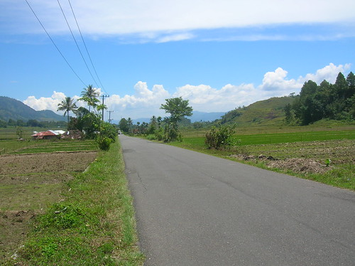 Lake Toba Road Sumatra