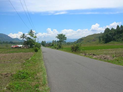 Lake Toba Road Sumatra