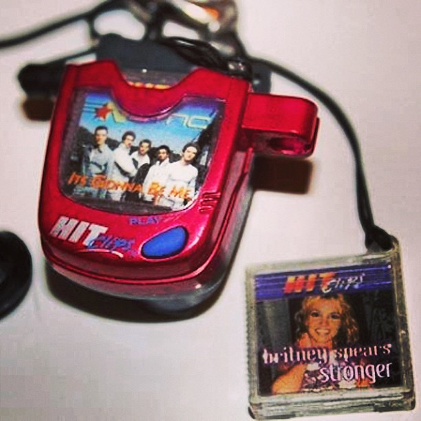90s Music Toys : Omgosh hit clips hitclips nsync brittanyspears s