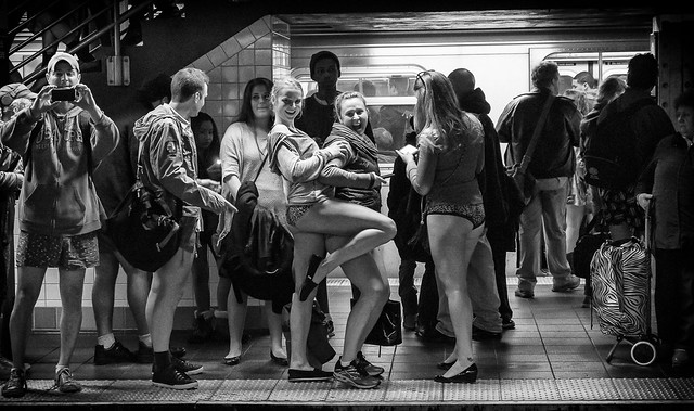 No Pants Subway 2013 - 024