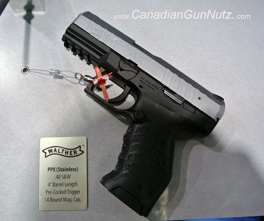 Shot Show 2013 Report: Walther PPX Navy
