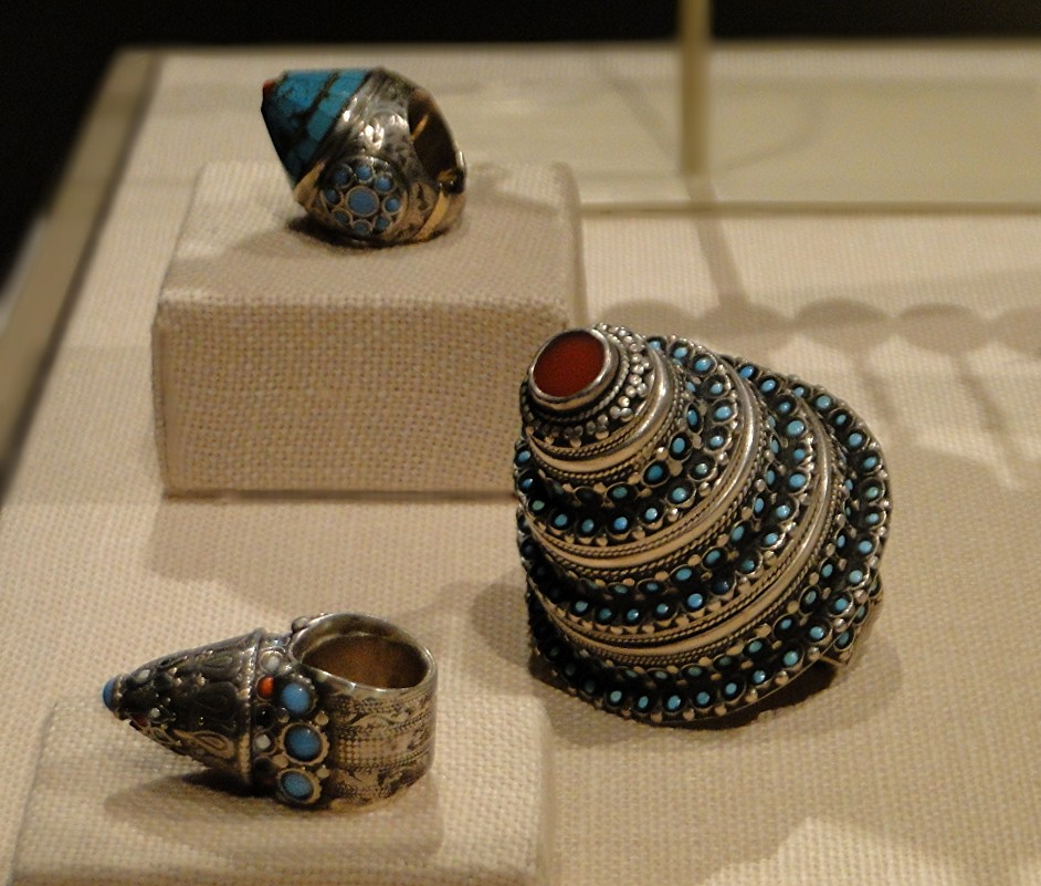 04 1j13_6296 ring turquoise AfghanistanTurkmen jewelryMetropolitan Museum ofArt