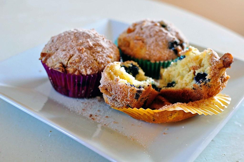 Orange Blueberry Muffins 4
