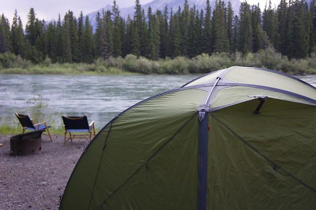 Bow river Campsite