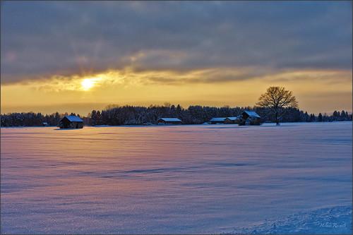 leica schnee sunset germany deutschland bavaria abend sonnenuntergang oberbayern felder wiesen m9 blauestunde glühen königsdorf voigtlandernokton50mmf11 colorefexpro4 captureone7