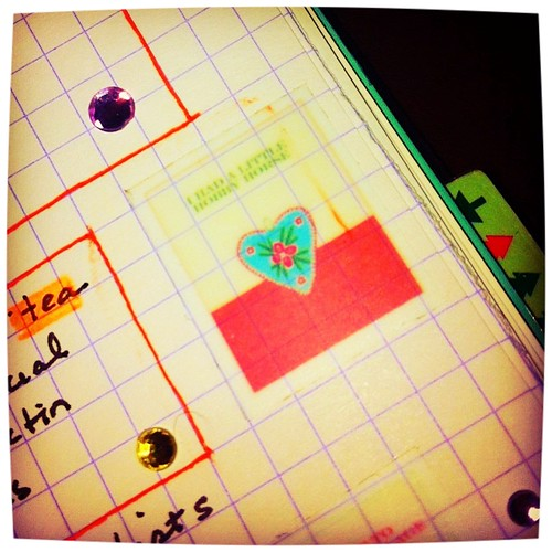 Bejeweled #filofax to do list