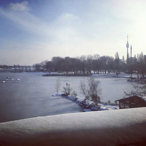 Lake...frozen