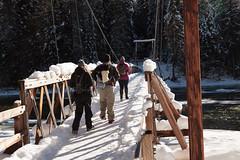 Warm Springs pack bridge