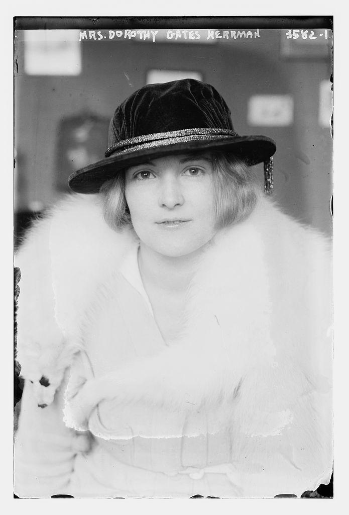 Mrs. Dorothy Gates Herrman  (LOC)
