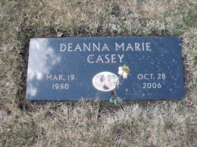 Deanna Casey's Headstone