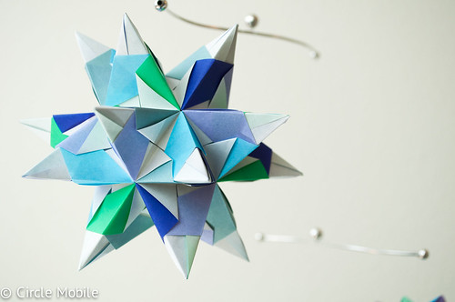 Snowflake Mobile: Largest Star