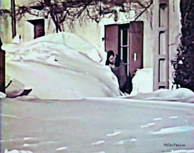 après les fortes chutes de neige des 30 et 31 janvier 1986 météopassion
